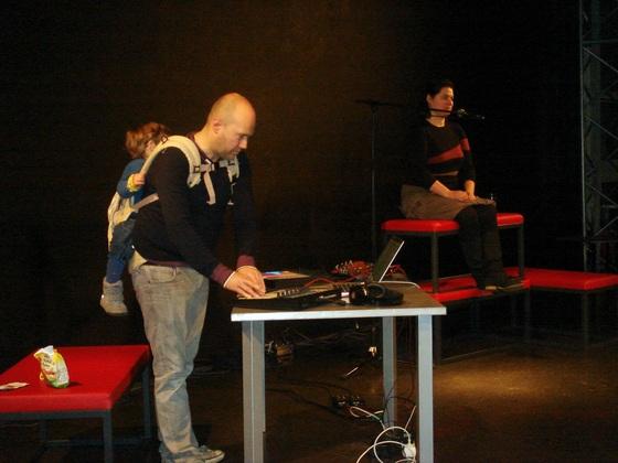 Soundcheck für das Konzert von Fu Acune in Aachen