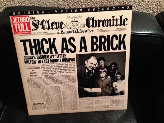 Jethro Tull thick as a brick / MFSL