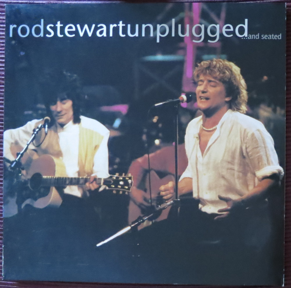 """Rod Stewart: """"unplugged ...and seated"""""""