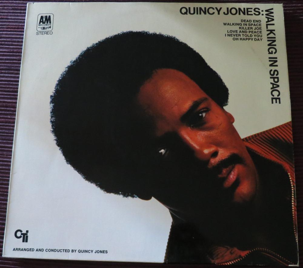 """Quincy Jones: """"walking in space"""""""