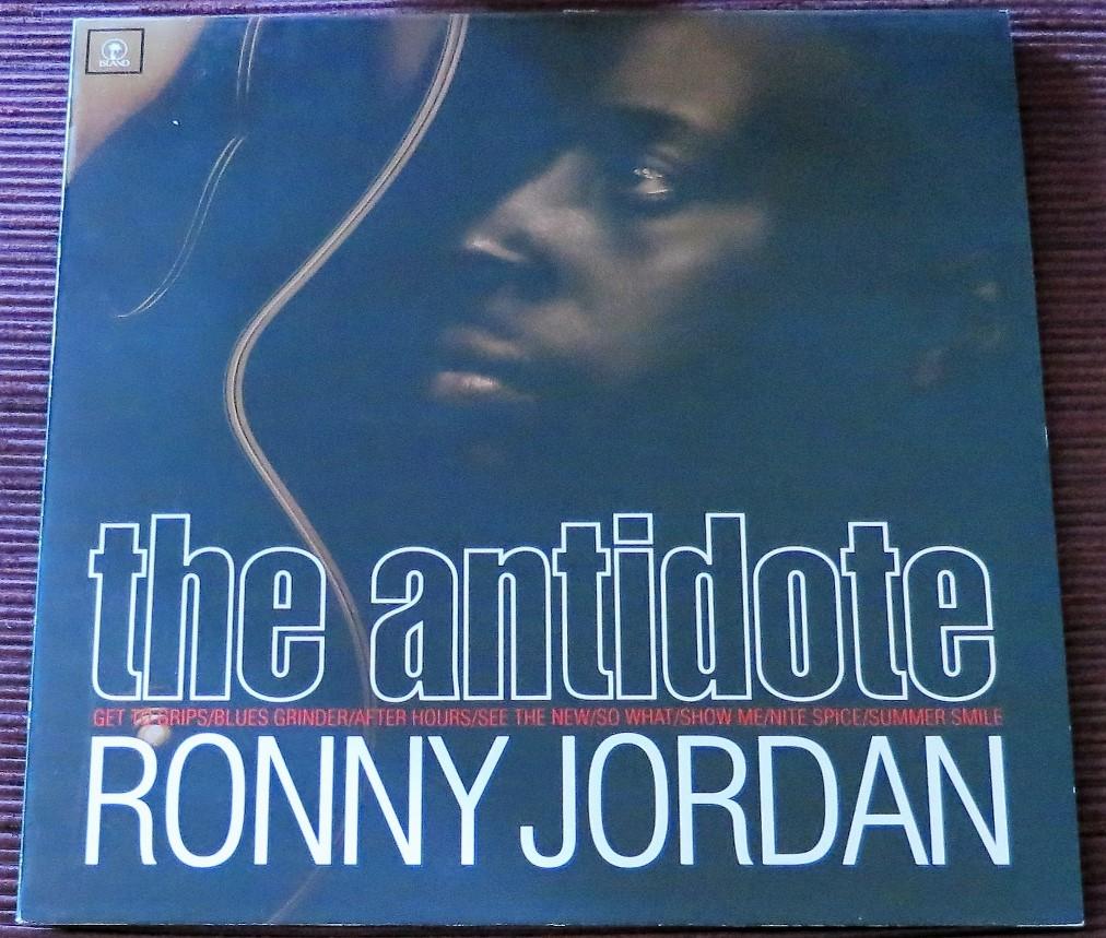 "Ronny Jordan: ""the antidote"""