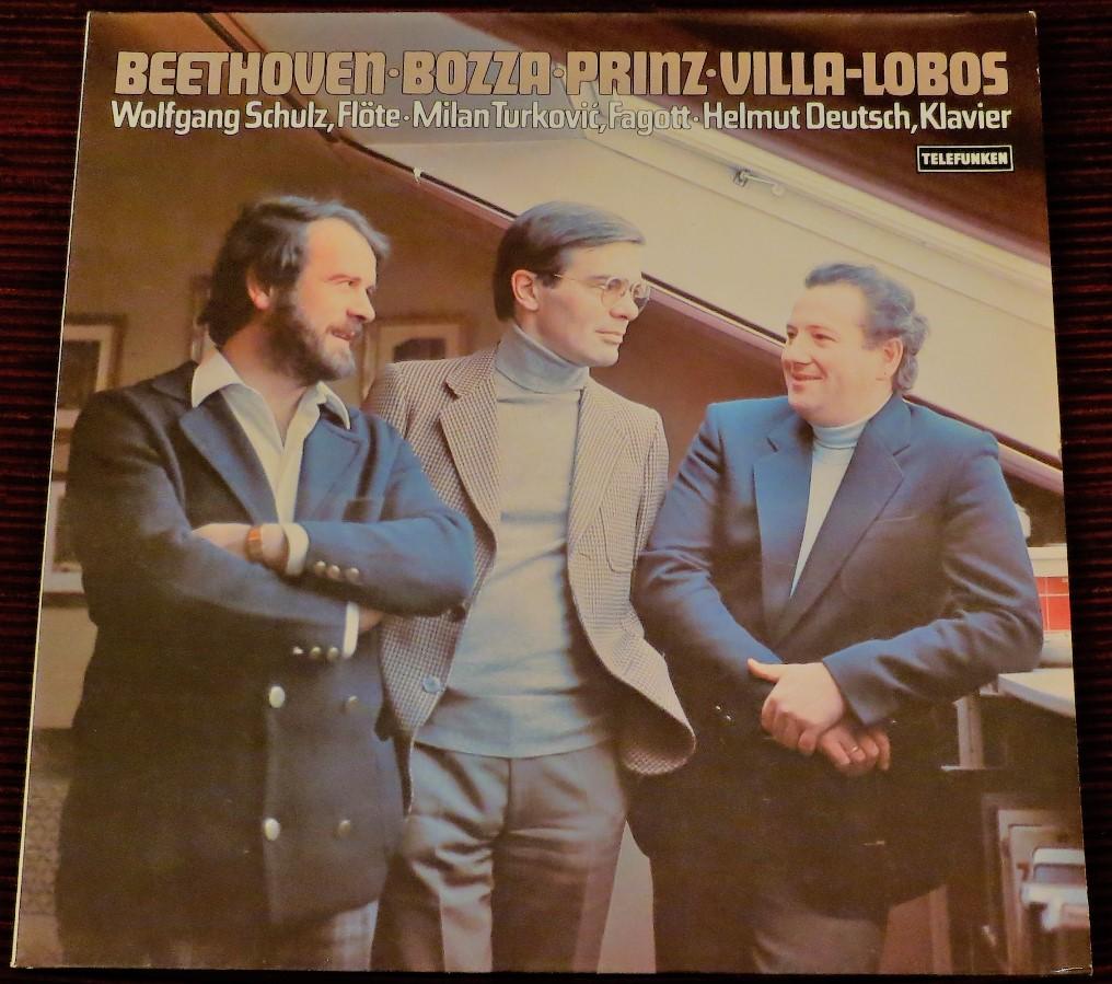 Beethoven, Bozza, Prinz, Villa-Lobos