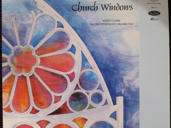 Ottorino Respighi: vetrate di chiesa