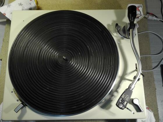 Lenco L75 + Ortofon AS 212 Tonarm