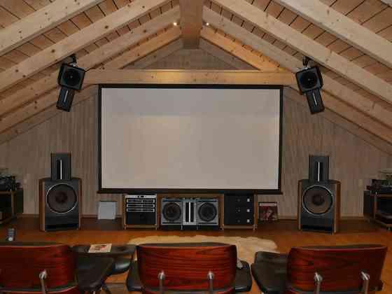 Bohne Audio BB-18 Stereosystem und Kino-Setup mit BB-8 und BB-12 - vollaktives System mit Trinnov Altitude