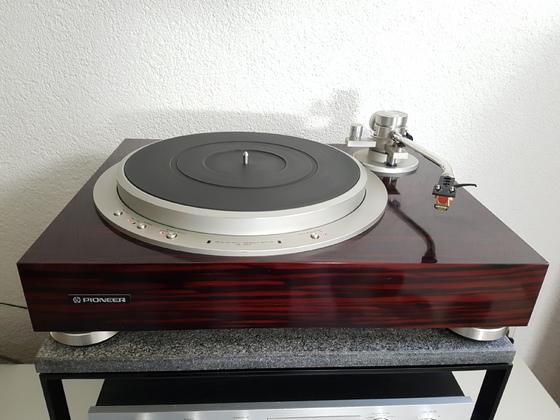 Pioneer PL-50L + Audio Technica AT-20 SLA