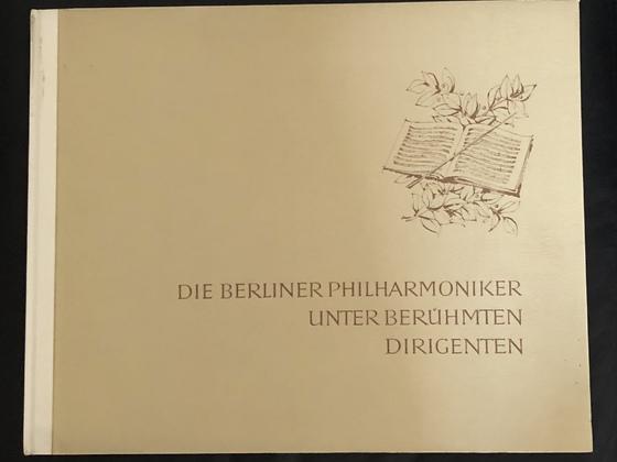 Die berliner Philharmoniker unter berühmten Dirigenten