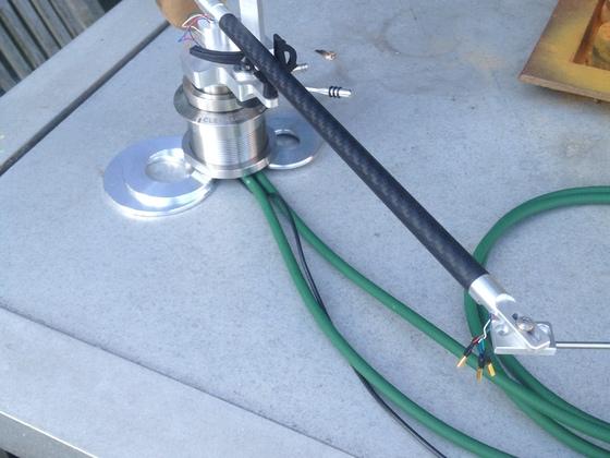 DIY-Magnet-Faden-Tonarm