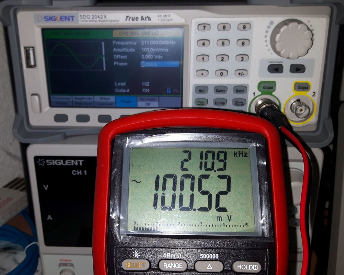 100mVrms-211kHz