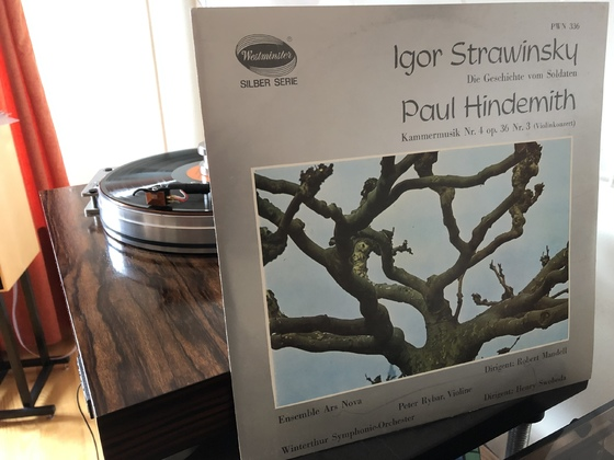 Stravinsky Hindemith