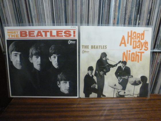 Meine Beatles Japan-ODEON Ausgaben in Red-Vinyl, 1966