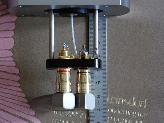 Winkelstecker auf RCA Conversion Kit für SME 3009/3012