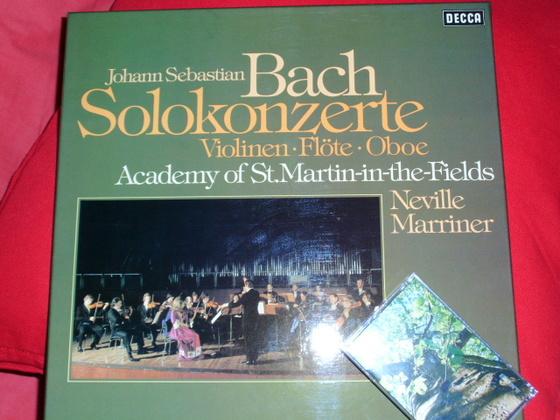 Bach Solokonzerte Viola Flöte Oboe