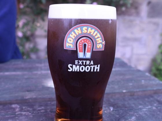 Bier aus West Woodburn (fast Schottland)
