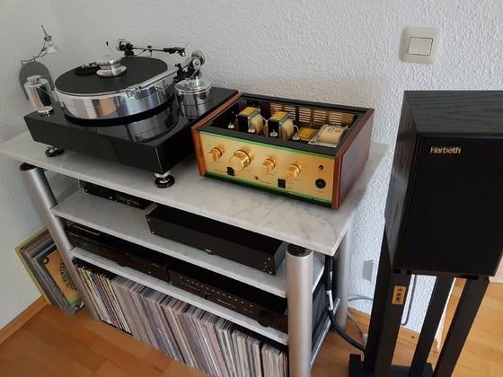 Leben, Acoustic Solid und Harbeth P3ESR