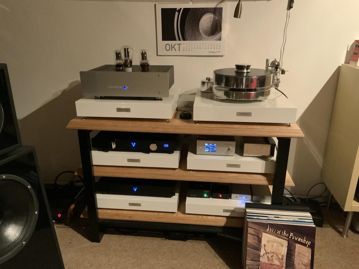 Lampizator Atlantic TRP, TR Fat Bob S, Valvet Soulshine, Goldnote PH-10, Silvercore Studio Pro