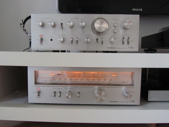 Pionner SA 9500 II und TX8500 II