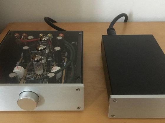 Umbau EAR 834 Clone - Phono-Pre-Amp