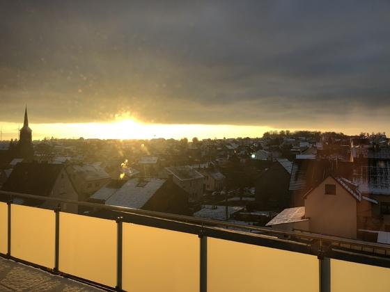 Sonnenaufgang:-)