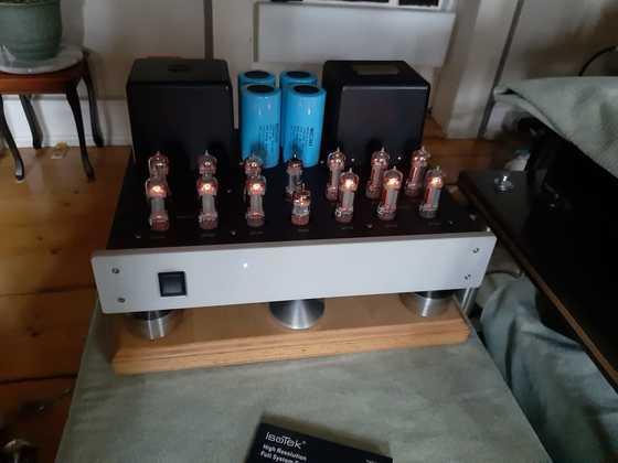 Silvaweld Mono Amp 6C19P Röhren