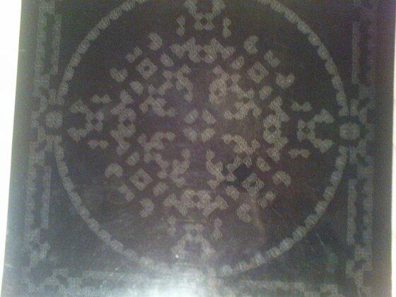 """""""Black Album"""" von La Monte Young mit Cover von Marian Zazeela"""