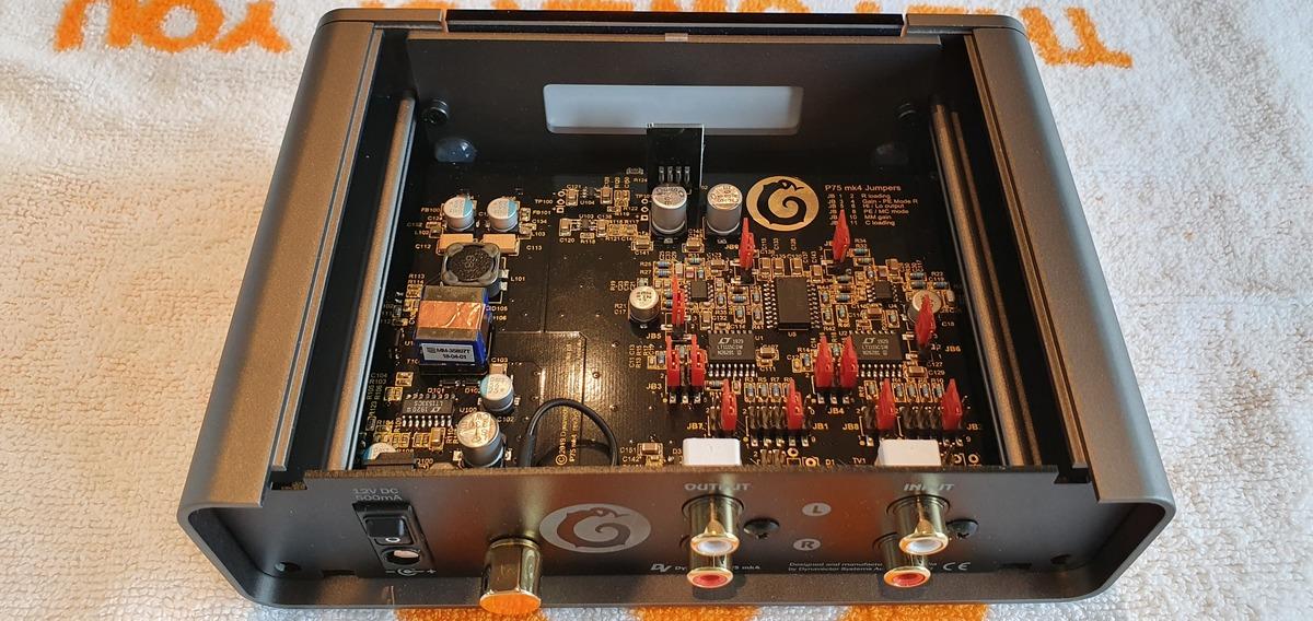 DV P75 Mk IV innen