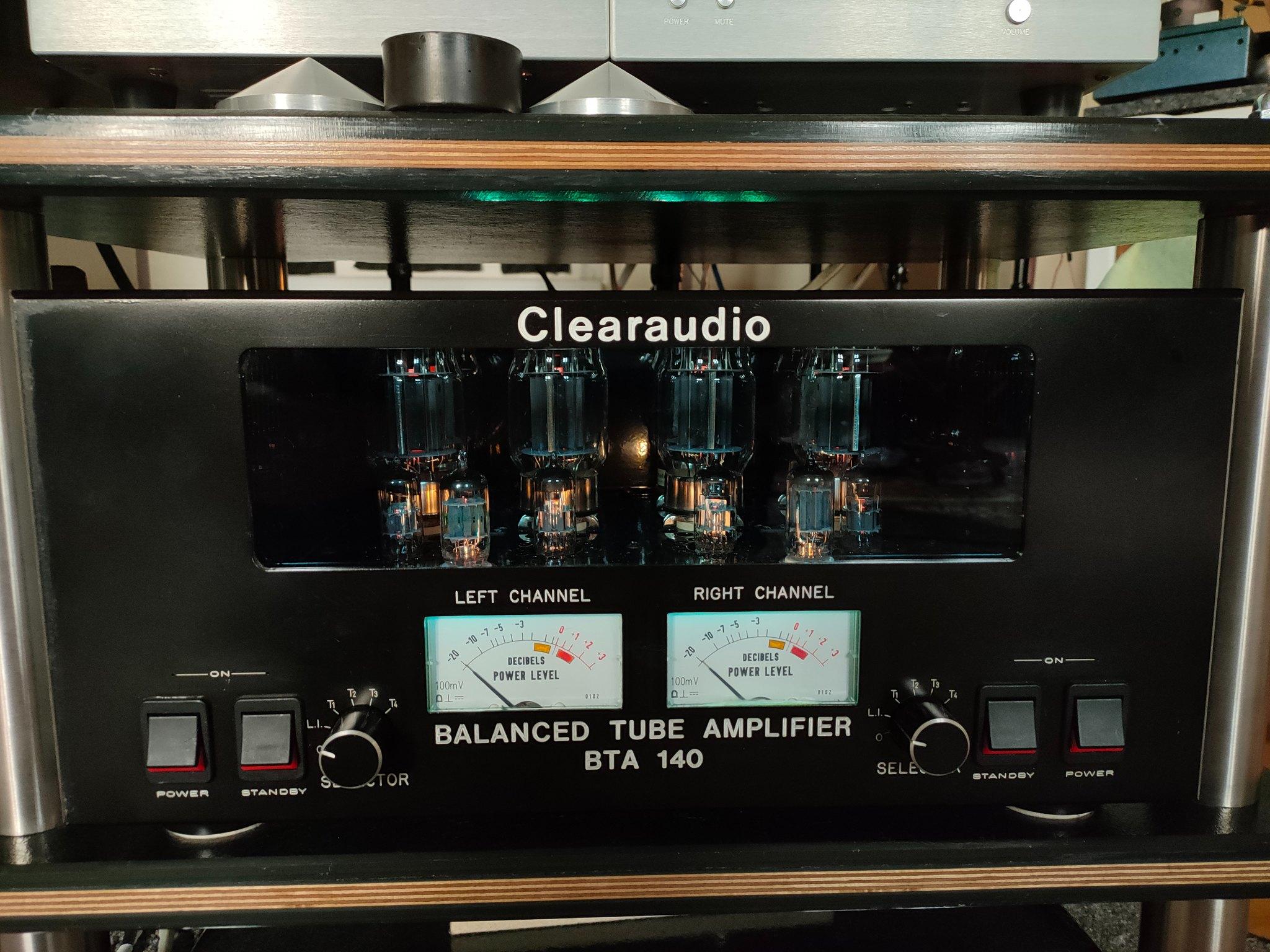 Clearaudio Prototype 2x140Watt 8 x Kt88