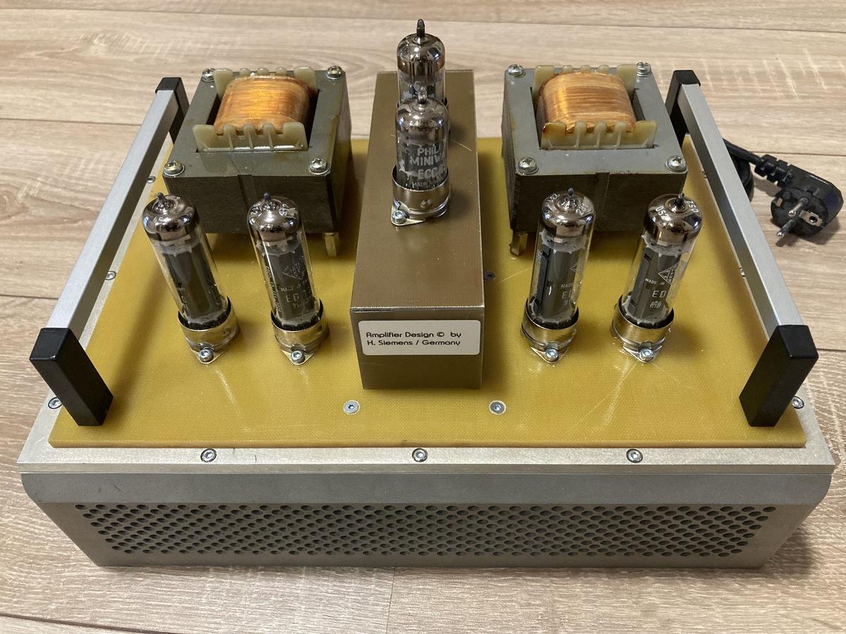 PP Endstufe mit ECC81/82 ED8000 AÜ - A234 G.Haas