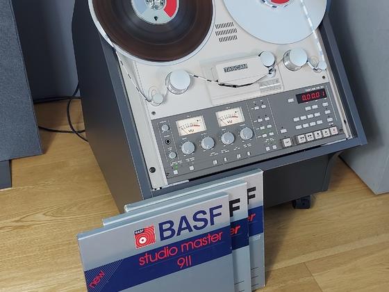 TASCAM BR 20 meine Private Maschine mit DBX