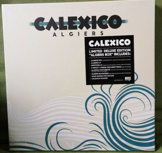 Calexico Algiers Limited Deluxe Edition Box Includes Autographs Of Joey