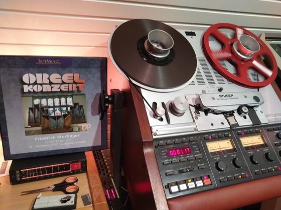 Sauberste Tonband-Aufnahme für Kunden