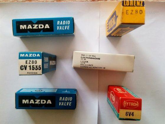 Gleichrichterröhren EZ80