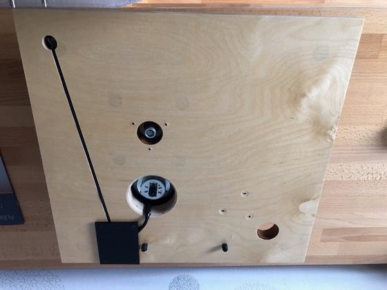 Laufwerk obere Basisplatte (Unterseite)