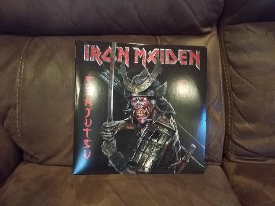 Iron Maiden-Senjutsu 3 Lp Box