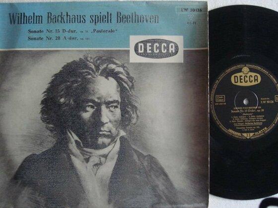 Wilhelm Backhaus spielt Beethoven Sonaten