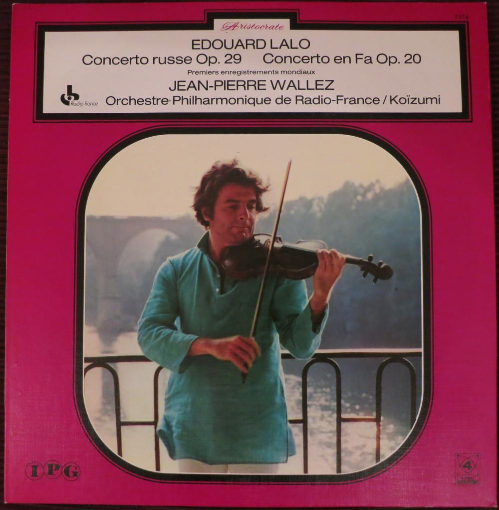 Edouard Lalo: Concerto russe, Concerto en Fa