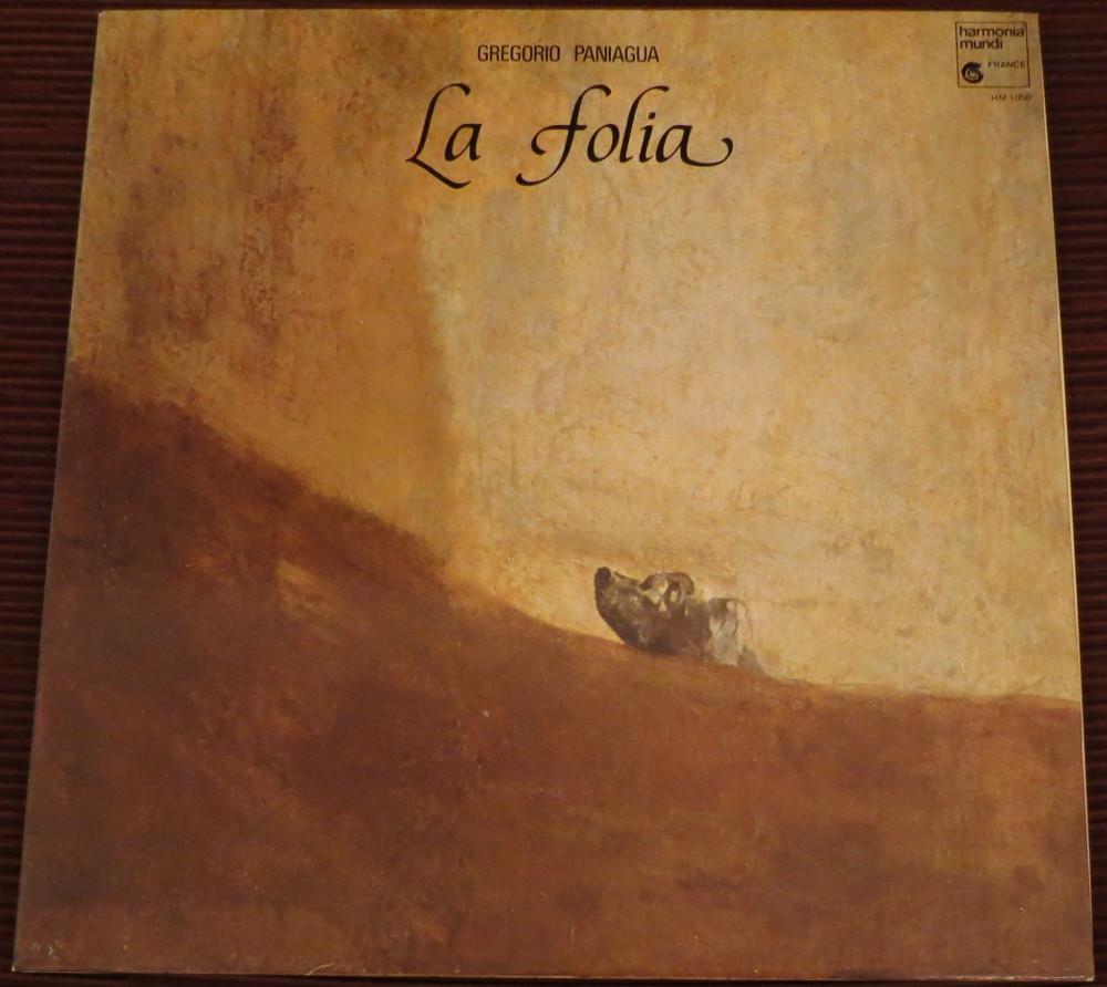 """Gregorio Paniagua: """"La Folia"""""""