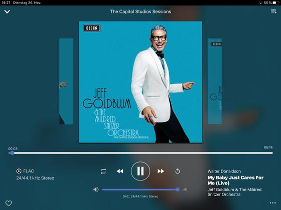 Jeff Goldblum - Sessions