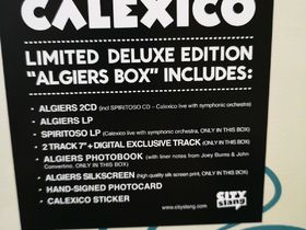 Calexico Algier Limited Deluxe Edition Box