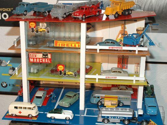 Alte Märklin Modellautos