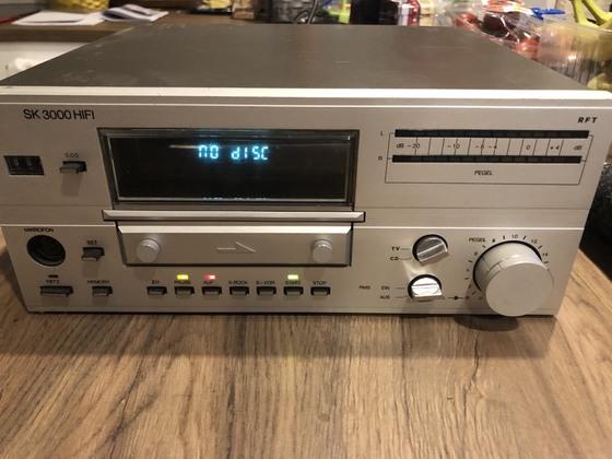 RFT SK3000 CD-Umbau