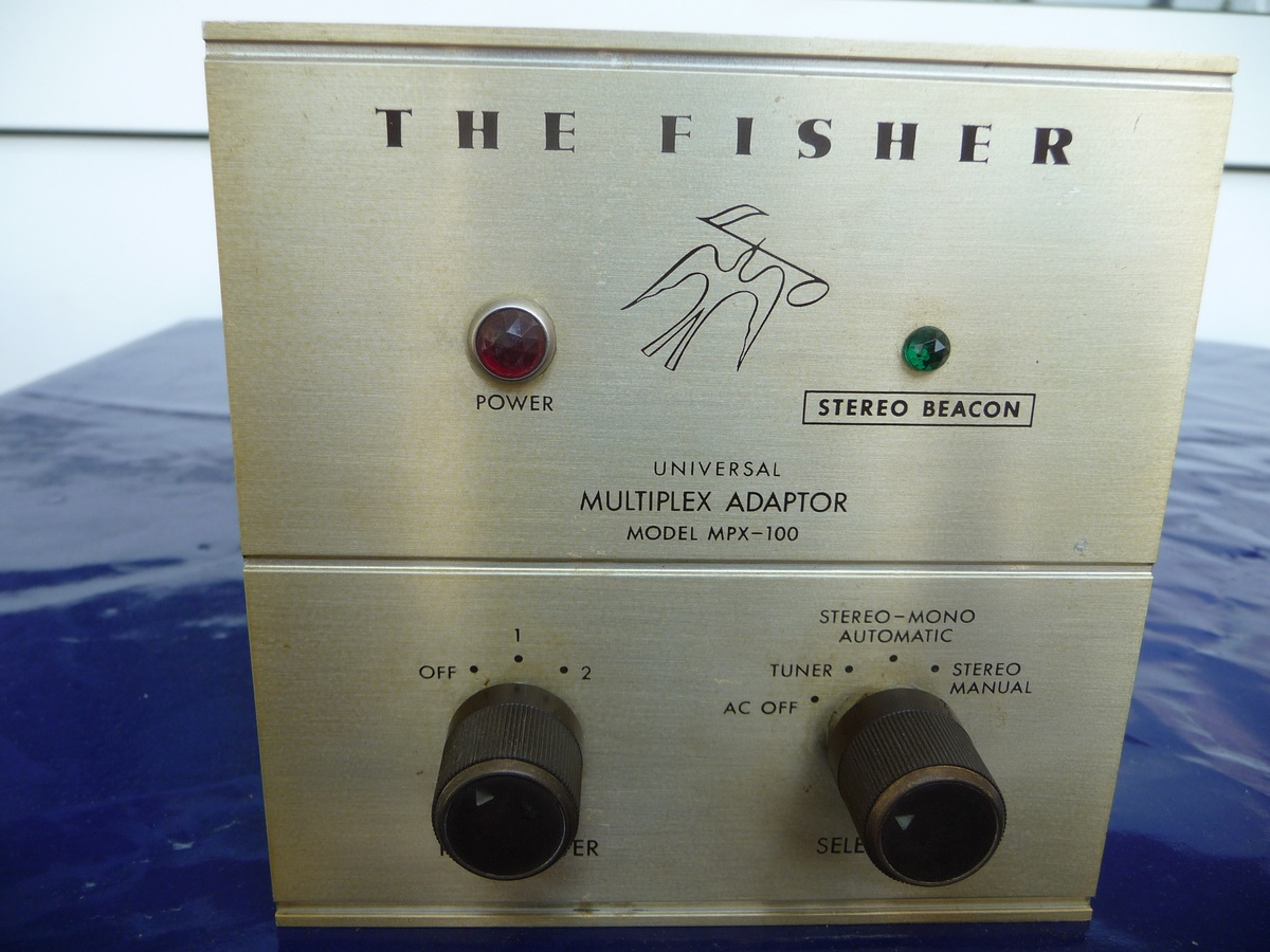 Fisher MPX 100 Stereodecoder