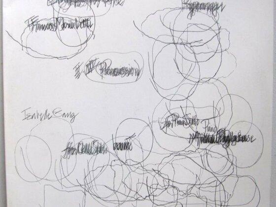 LP-Cover John Cage - Etudes Boréales/Ryoanji