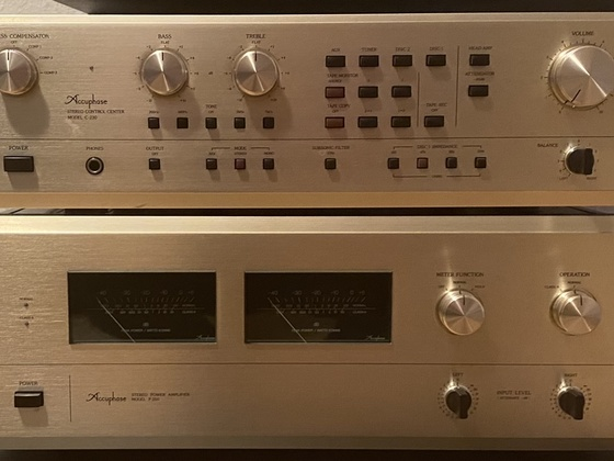 Accuphase C230 & P260