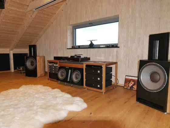 Bohne Audio BB-18 Stereosystem und Kino-Ergänzung mit Center BB-12 - vollaktives System mit Trinnov Altitude