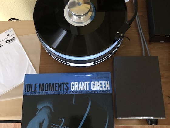 Grant Green - Idle Moments   raan w303