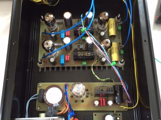 AK-tubes D3a Phono