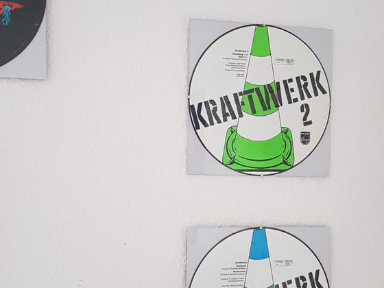Sehr sehr seltene Kraftwerk Picture Discs
