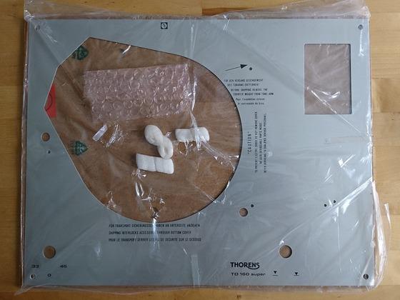 Thorens Deckplatte