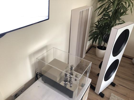 Neues Wohnzimmer und Diffusoren